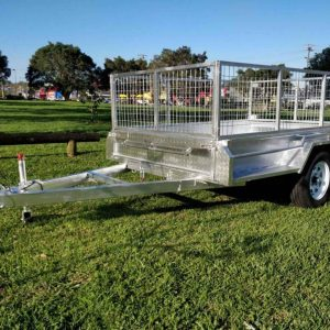 7x4 Industrial Heavy Duty Trailer