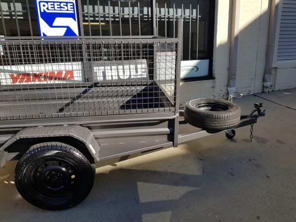 Single Axle with Cage