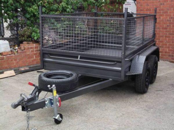 Dual axle tandem trailer