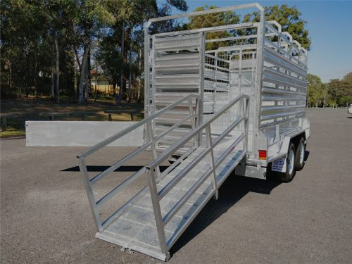 Cattle Trailer with ramps